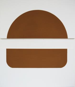 """""""burger"""" 2012 (dyptique) 50x100cm acrylique sur toile"""