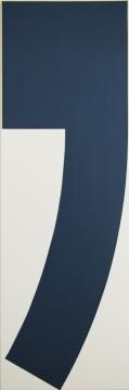 """""""Virgule"""" 150x50cm acrylique sur toile"""