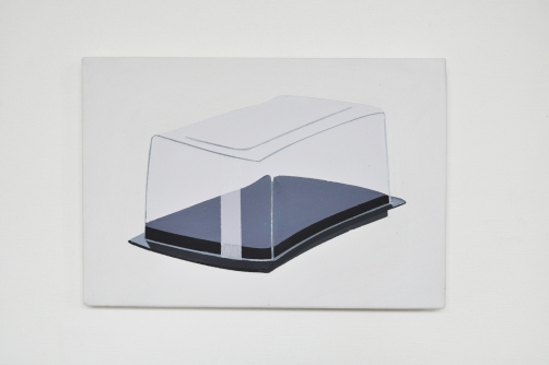 """""""beurrier"""" 2014 24x33cm acrylique sur toile"""