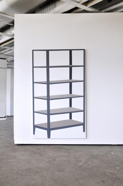 ETAGERE METALIQUE 162 x 96 cm acrylique sur toile
